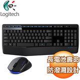 Logitech 羅技 MK345 無線鍵盤滑鼠組《黑》
