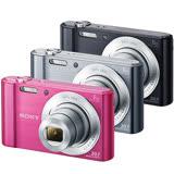 SONY DSC-W810高畫質數位相機(公司貨)-加送SDHC32G記憶卡+原廠電池(含標配共2顆)+專用座充+清保組+讀卡機