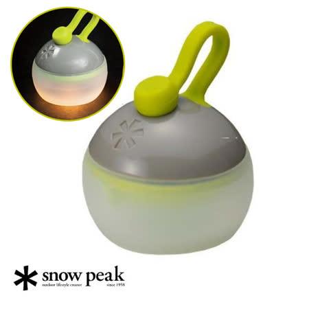 日本 Snow peak 公司貨 最新 Mini Hozuki 迷你戶外夜燈_灰 ES-040GY