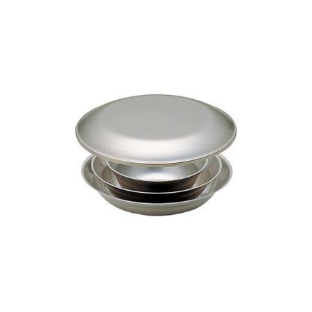 日本 Snow Peak SP 不鏽鋼餐盤組-1人四件組(Tableware Set L)餐具組.碟子.碗盤組 TW-021
