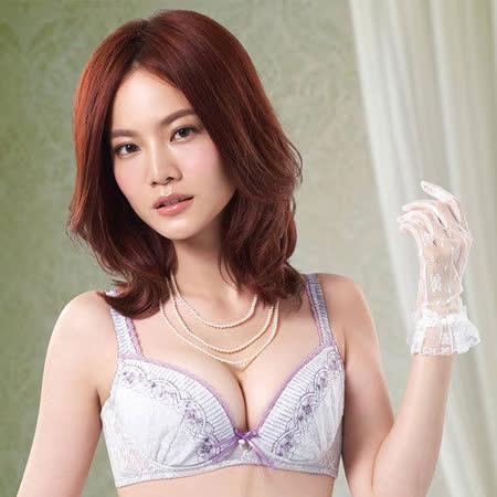 【莎薇】好愛現系列D罩杯內衣(象牙灰)