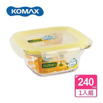 KOMAX 輕透 Tritan 方形保鮮盒 240ml (72521)
