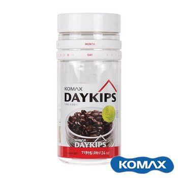 KOMAX DAYKIPS 日期儲物罐 715ml (71881)