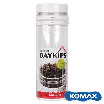 KOMAX DAYKIPS 日期儲物罐 1600ml (71885)