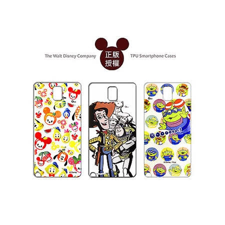 迪士尼授權正版 Disney Samsung GALAXY Note 3 SM-N900 透明彩繪軟式保護殼手機殼(玩具總動員/米奇款)