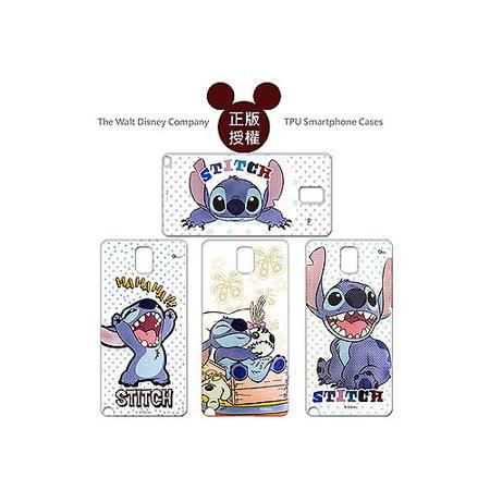 迪士尼授權正版 Disney Samsung GALAXY Note 3 SM-N900 透明彩繪軟式保護殼 手機殼 (史迪奇款)