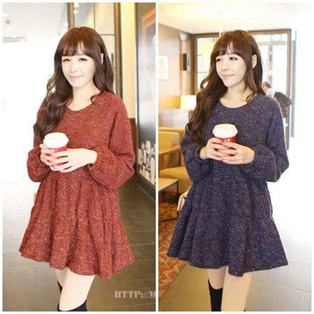 Kate❤Classic 甜美彩色碎點寬鬆短裙洋裝DS128