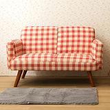 【日安家居】Novarg諾維格舒適雙人布沙發(共三色)