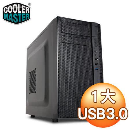 Cooler Master 酷碼 N200 U3黑1大電腦機殼