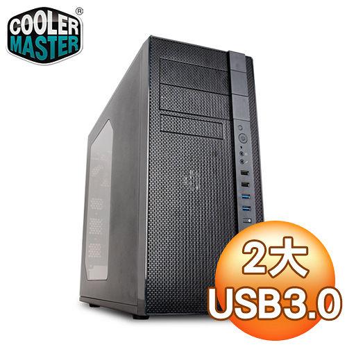 Cooler Master 酷碼 N400 USB3豪華版 黑2大電腦機殼