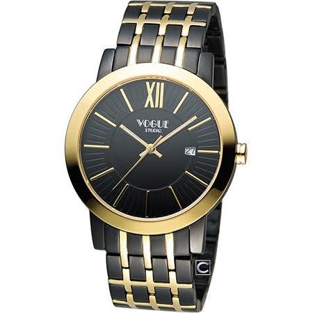 【真心勸敗】gohappy快樂購物網VOGUE 低調簡約時尚腕錶 2V1407-231DYG-D開箱愛 買 打工