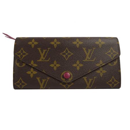 Louis Vuitton LV M60708 JOSEPHINE 經典花紋三折活動零錢長夾.紫 現貨
