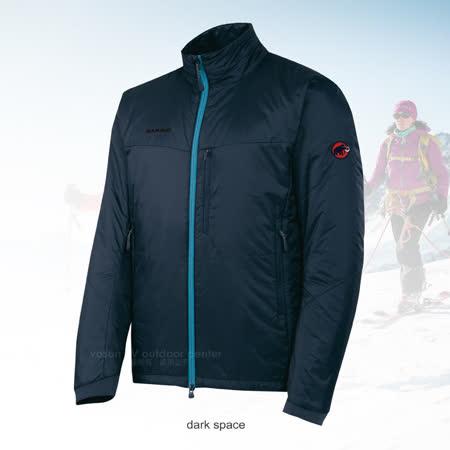 【瑞士 MAMMUT 長毛象】男新款 Lithium Jacket Men保暖抗風抗水外套_深藍 1010-15580