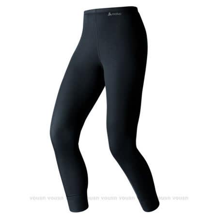 【瑞士 ODLO-送狠大】warm effect 女機能型銀離子保暖長褲_黑 152041