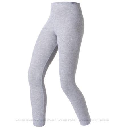 【瑞士 ODLO-送狠大】warm effect 女機能型銀離子保暖長褲_深麻灰 152041