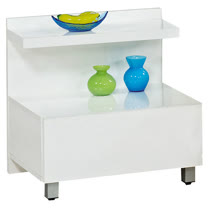 HAPPYHOME 現代一抽床頭櫃081-13可選色