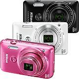 Nikon COOLPIX S6900 12倍光學變焦相機(公司貨)-加送32G記憶卡+原廠電池+專用座充+中腳架+清潔組+讀卡機+桌上型小腳架+保護貼+防潮箱