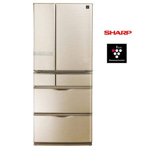 SHARP夏普560L日本原裝六門對開冰箱SJ-XF56AT-T