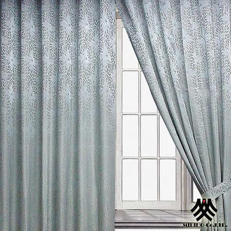 《M.B.H─綠藝典藏》半腰穿掛窗簾(270*230cm)
