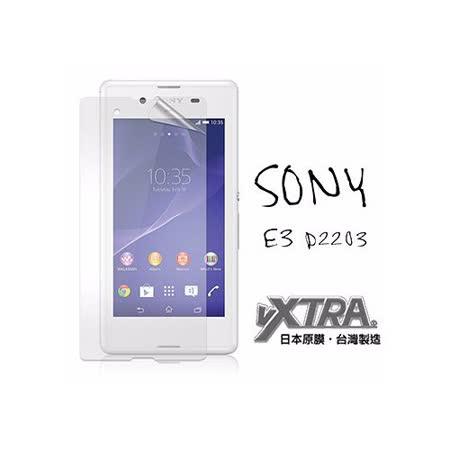 VXTRA 索尼 Sony Xperia E3 / D2203 高透光亮面耐磨保護貼