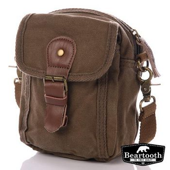 Beartooth 赫爾新基 腰包/ 小側背包 棕綠
