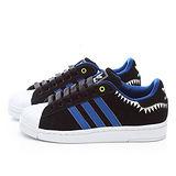 Adidas 男款 三葉草貝殼頭鯊魚造型板鞋M20909-黑
