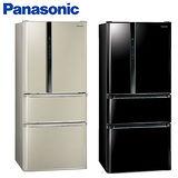 『Panasonic』 ☆ 國際牌 EcoNavi 610L四門變頻冰箱(NR-D618HV/NRD618HV-B/光釉黑)