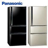 『Panasonic』 ☆ 國際牌 雙科技 610L三門變頻冰箱(NR-C618NHV/NRC618NHV-B/光釉黑)