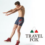 【TRAVELFOX 旅狐】美式印花五分男泳褲C13910