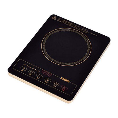 ★贈多功能料理盤2入SP-1513★『SAMPO』☆聲寶 超薄不挑鍋電陶爐 KM-SG12P