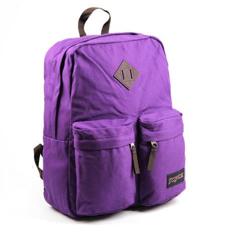 JanSport 校園背包(HOFFMAN)-活潑紫