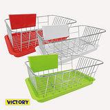 【VICTORY】排水口設計/餐具架/碗盤架/瀝水架