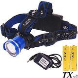 【特林TX】美國CREE T6 LED多段式旋轉變焦頭燈(T6HF-2-Z)
