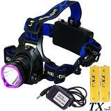 【特林TX】美國CREE T6 LED大光圈強亮旅充式頭燈(T6HA-2-Z)