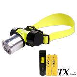 【特林TX】美國CREE T6 LED極亮潛水頭燈(T6H-WA-Z)