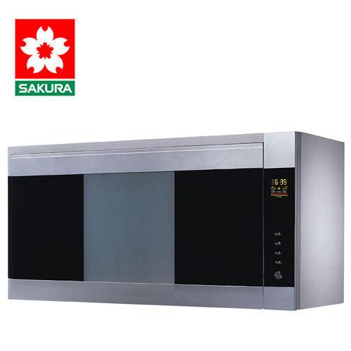 SAKURA櫻花 雙殺菌烘碗機80公分銀色 Q-7580SL 送安裝