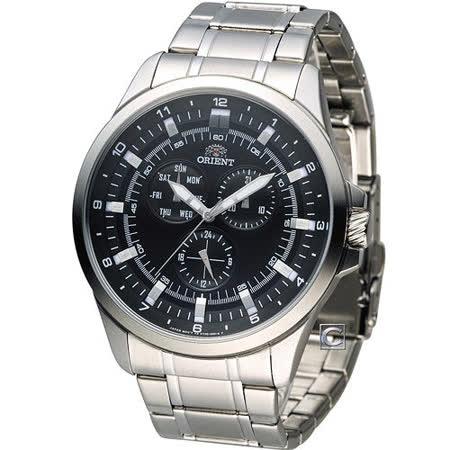 ORIENT 東方 英雄之戰大器石英腕錶 FUT0D002B