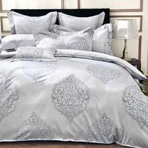 義大利La Belle《聖娜雅典》雙人緹花四件式被套床包組