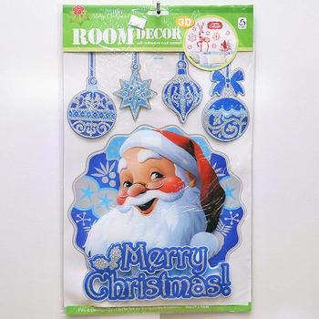 【X mas聖誕特輯2014】靜電窗貼 BT-5519