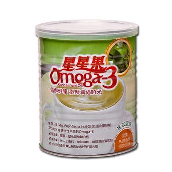 【買六送二】健康主張星星果粉Omega3營養素300g (原味/抹茶) 任選8件