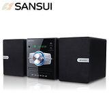 SANSUI山水 DVD床頭音響組合(MS-635)送國/台語精選音樂CD乙片+多功能洗臉器