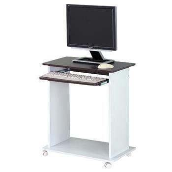 優居家 經典白色時尚電腦桌 一組/箱