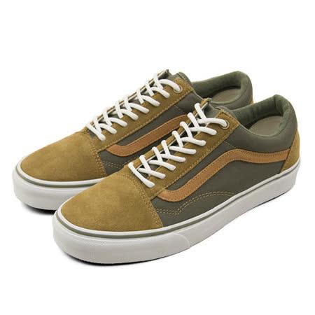 男 VANS 復古休閒鞋 Old Skool 橄綠棕 43010517