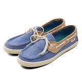 女 VANS 休閒時尚鞋 Chauffette 藍棕米 43060402