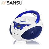 SANSUI山水 廣播CD手提式音響(SB-85N)送國/台語精選音樂CD乙片