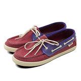 女 VANS 休閒時尚鞋 Chauffette 莓紅紫 43060404