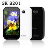 SK S201 雙卡1.2G雙核心智慧機(簡配/公司貨)※贈4G記憶卡+電池套筒組※