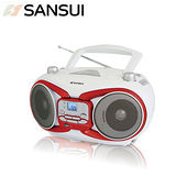 SANSUI山水 藍牙手提CD/MP3/USB手提音響(SB-98B)送國/台語精選音樂CD乙片