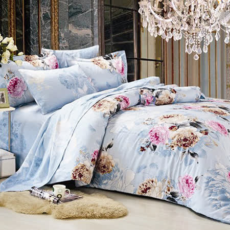 RODERLY 傾世皇妃 純棉 雙人四件式兩用被床包組