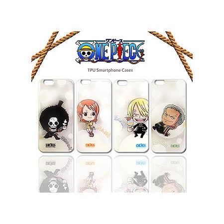 授權正版 航海王 海賊王 iPhone 6 PLUS  5.5吋 透明軟式保護殼 手機殼(Q版款)